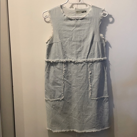 Topshop MOTO denim dress